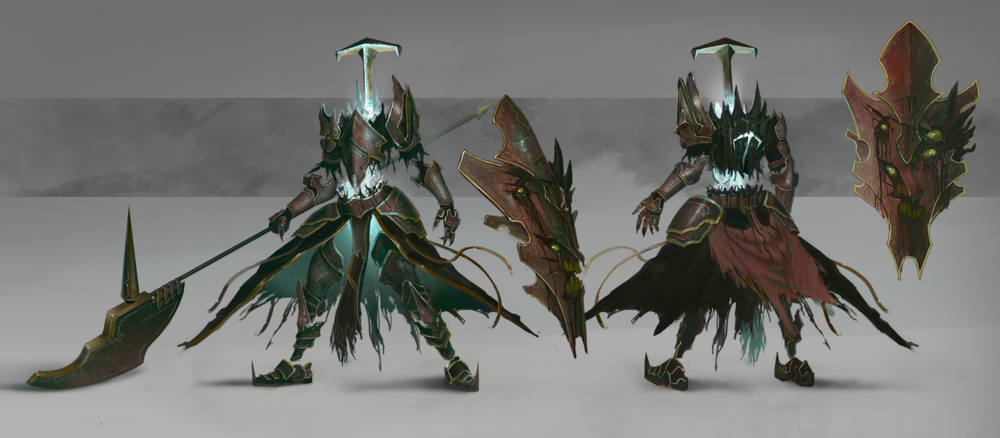 Enemy Knight Concept