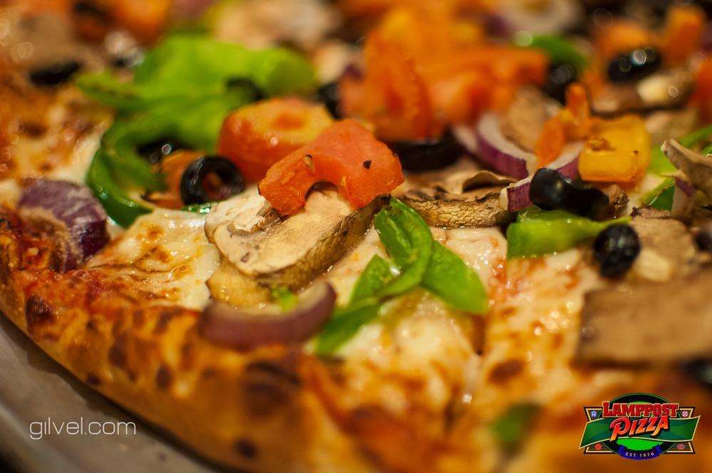 Veggie Jackson Pizza