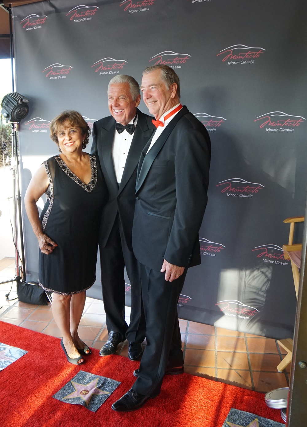 Co chairs Dolores Johnson and Dana Newquist Barry Meguiar, our special guest.