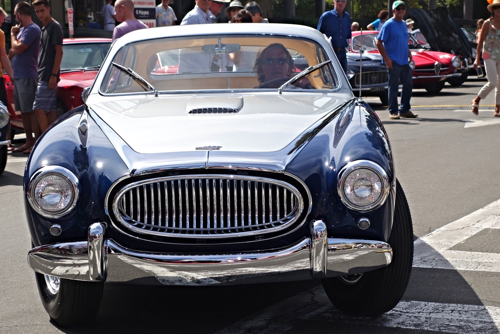 1953 Cunningham C3 Coupe Vignale body- only 26 produced - 20 coupes, six convertibles produced.