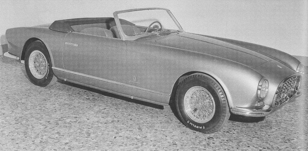 1953 Ferreri 250 Europa Cabriolet