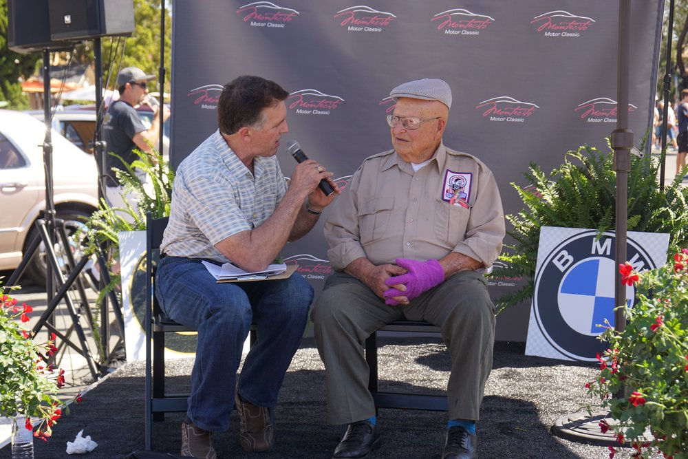 "Steve Ford, The Car Guy, interviews our 2016 MMC featured Honoree,  Ed ""Isky"" Iskenderian"