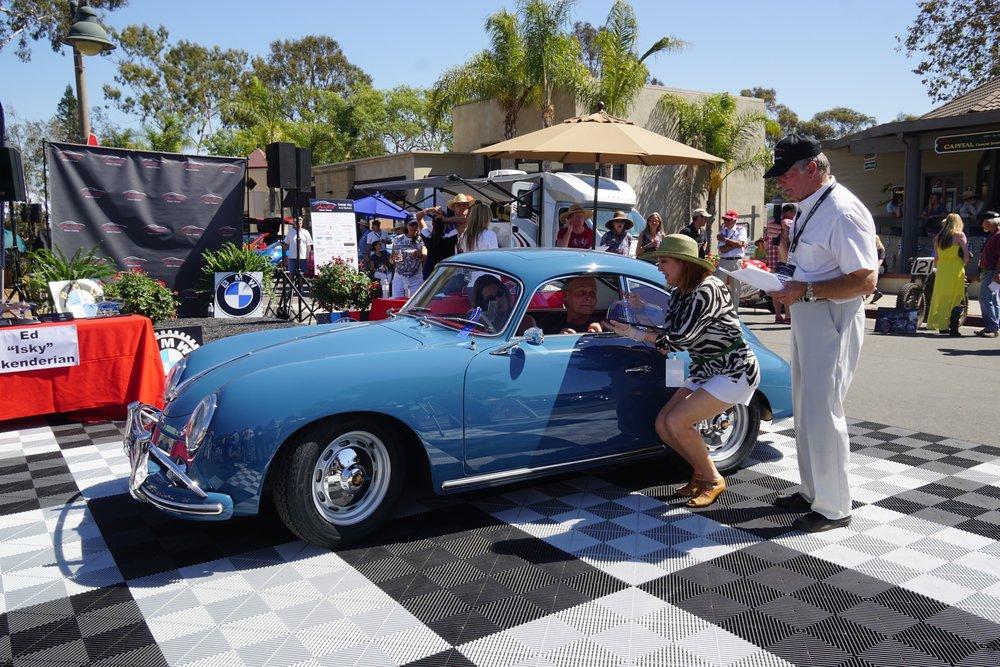 Sport (Under 2 litre)    1st Place      1959 Porsche 356 Coupe – Leslie & Robert Heinz