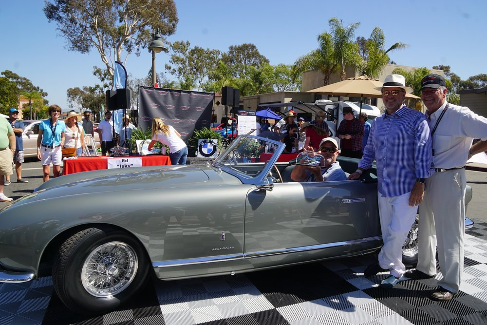 Sport (Over 2 Litre) 1st Place 1953 Ferrari 250 Europa Cabriolet – Dick Wolf