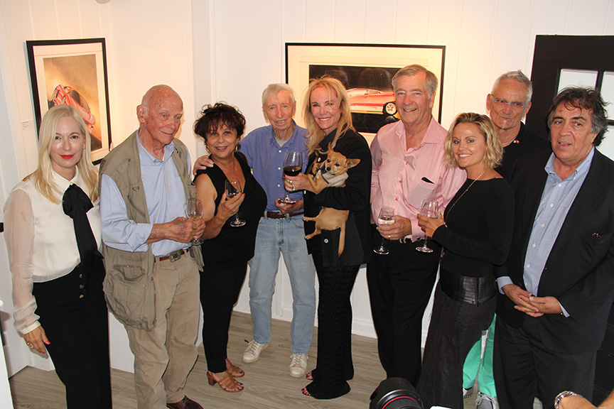 A heartfelt thank you to The Gallery Montecito for their generosity, hospitality and support for the Montecito Motor Classic.  Everyone said it was one of the best art show parties they ever attended.  Again, thank you Marjorie and staff!