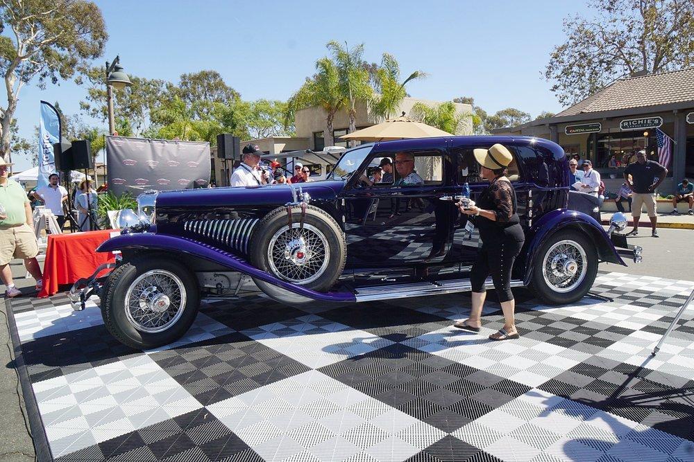 Founder's Trophy - Craig McCaw 1930 Model J Duesenberg