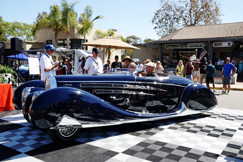 BEST OF SHOW - 1939 Bugatti presented by Peterson Museum