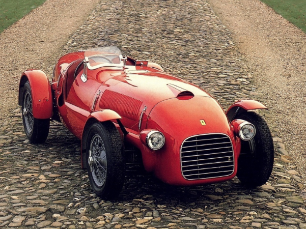 1947 125 S Ferrari. First Ferrari ever built.