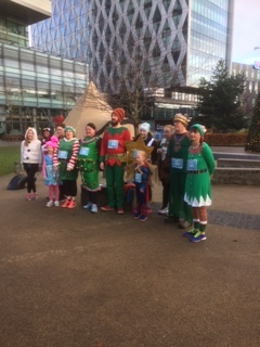 Christmas Jingle Jog-Thanks team amazing effort