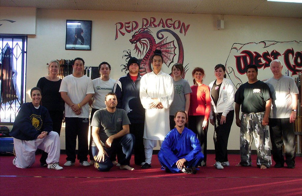 Wudang Taiji 28 Movements classes in CA 2007 b
