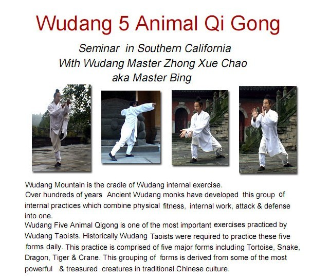 5 animal qigong