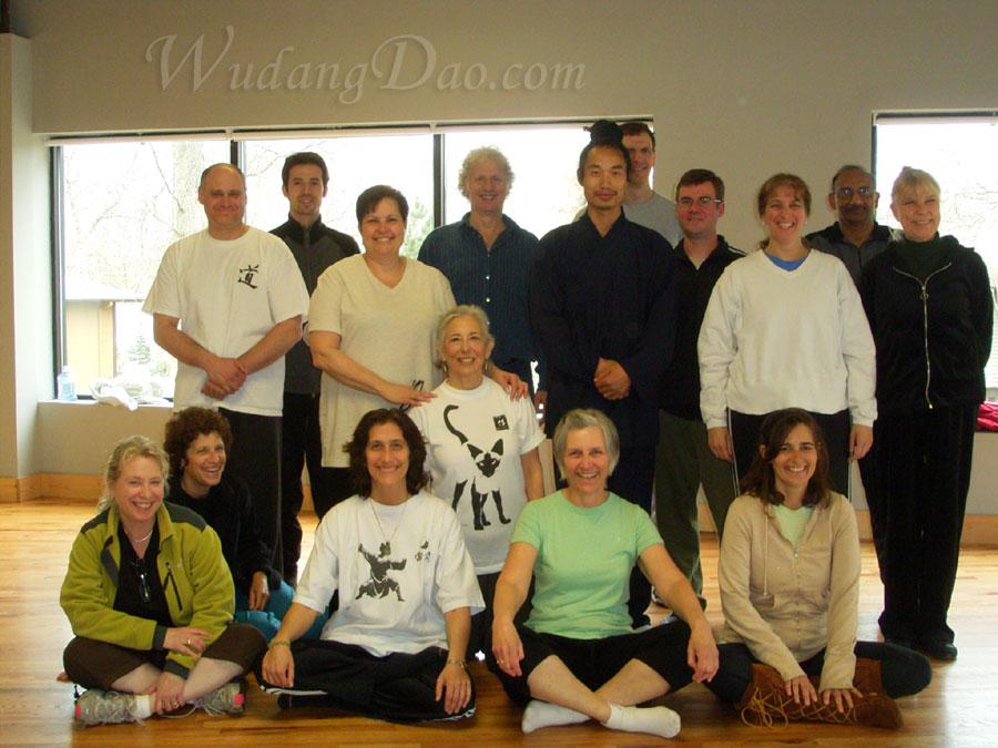 April 12-13, 2008. Wudang 5 Animal QiGong Seminar, in New York 5
