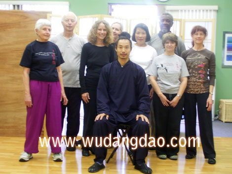 Wudang 5 Animal Qi Gong Class in CA 2007
