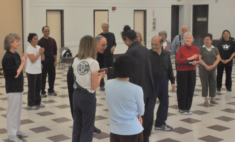 March 18th 19th, 2009 Five animal Qigong Seminar in Vista CA 6
