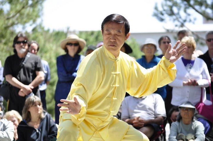 World Chigong Taichi Day 2009 master Chen Xiao Wang