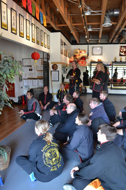 Wudang Eight Immortal Staff Seminar