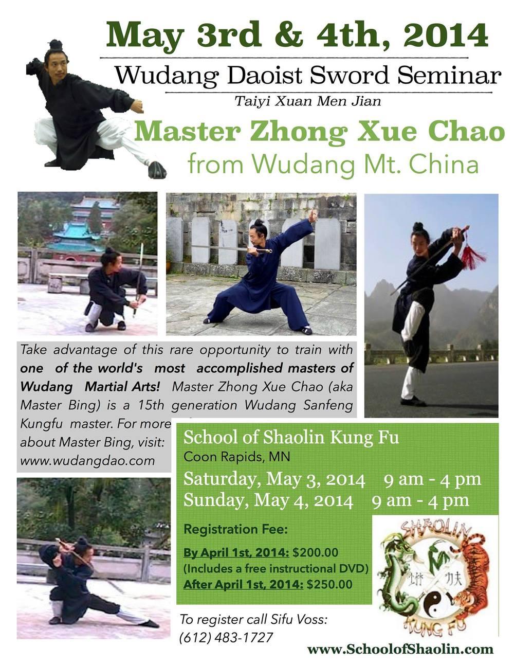 Taoist Sword Seminar Minn