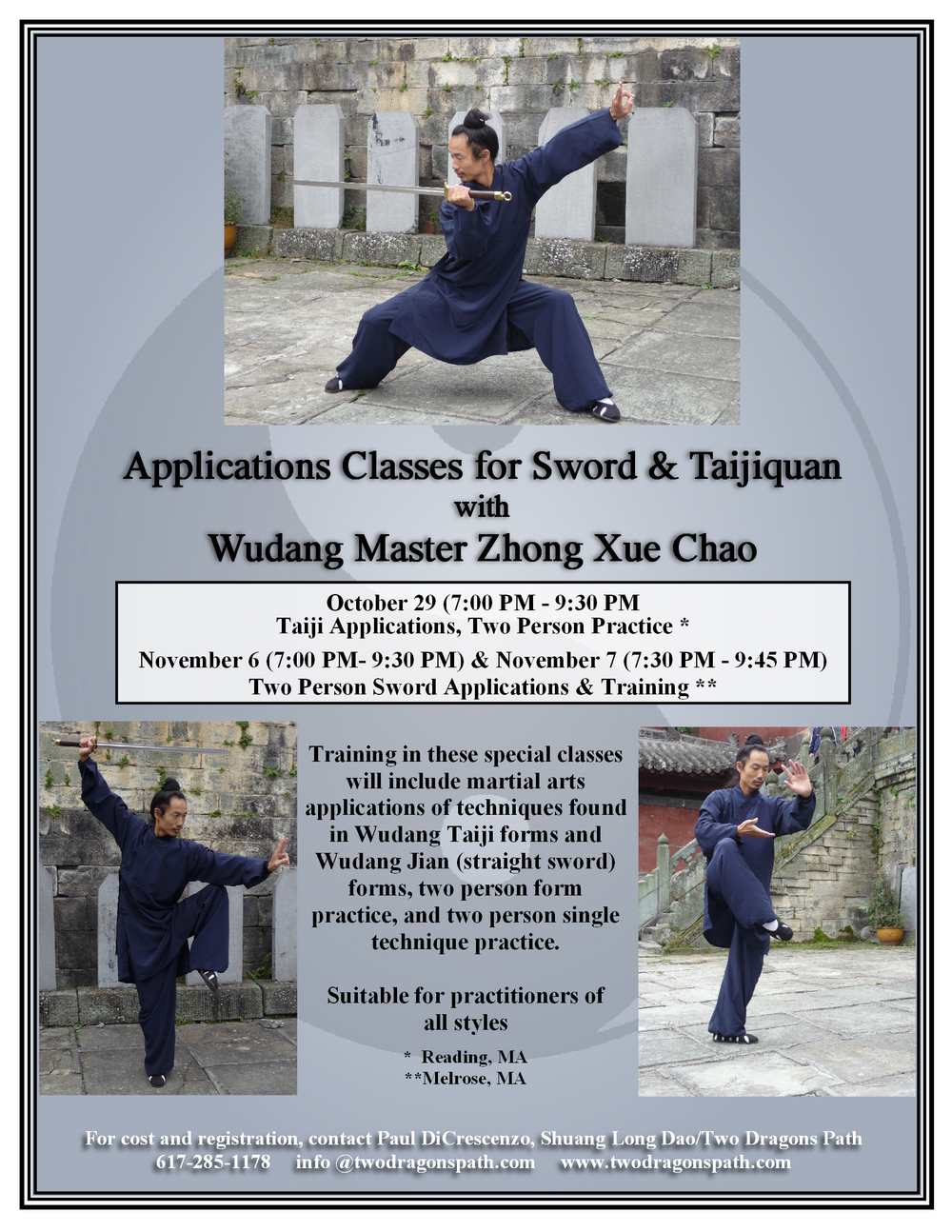 Wudang Sword & Taijiquan Applications