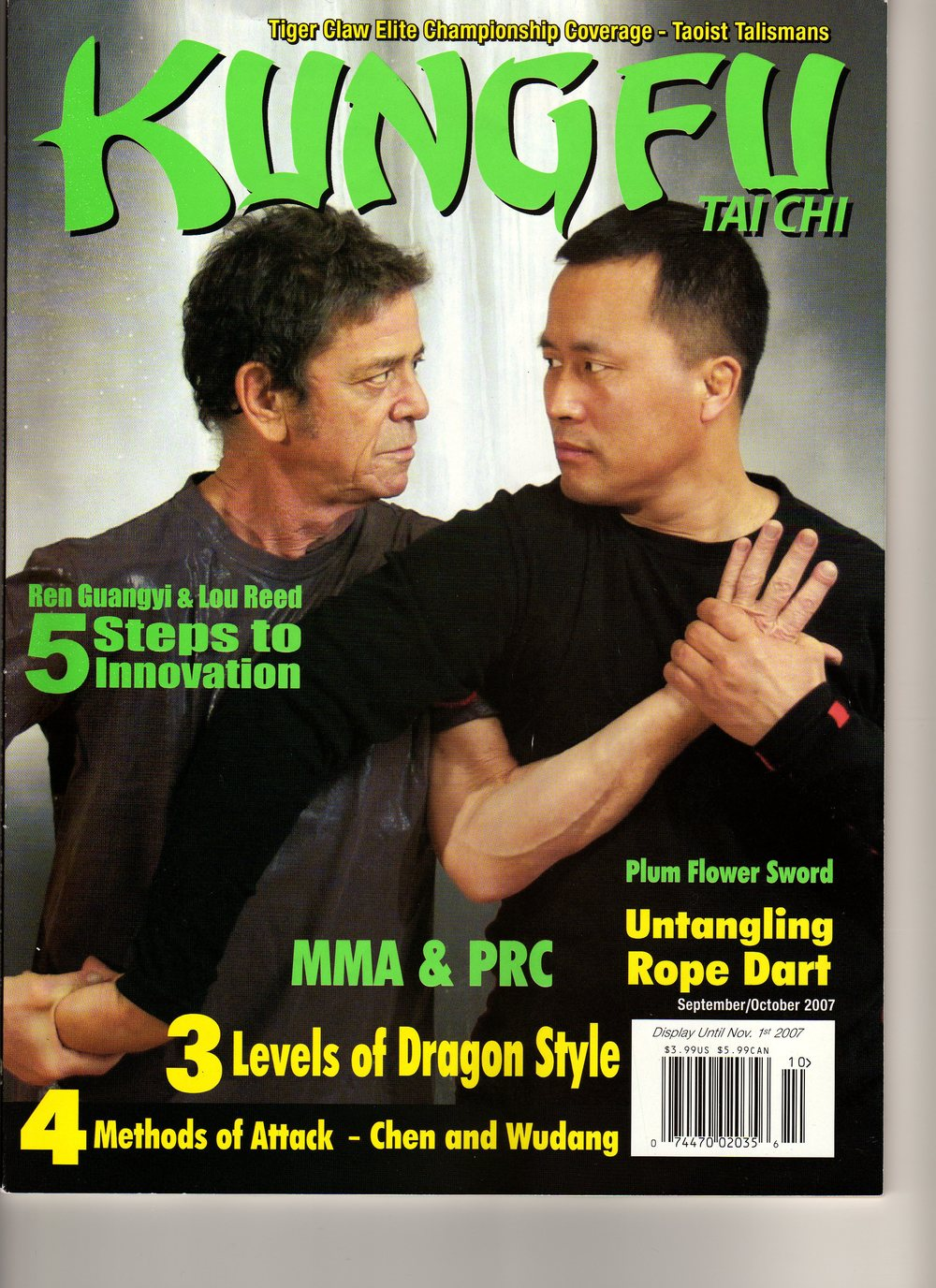 Master Bing on Kung Fu Magazine 7