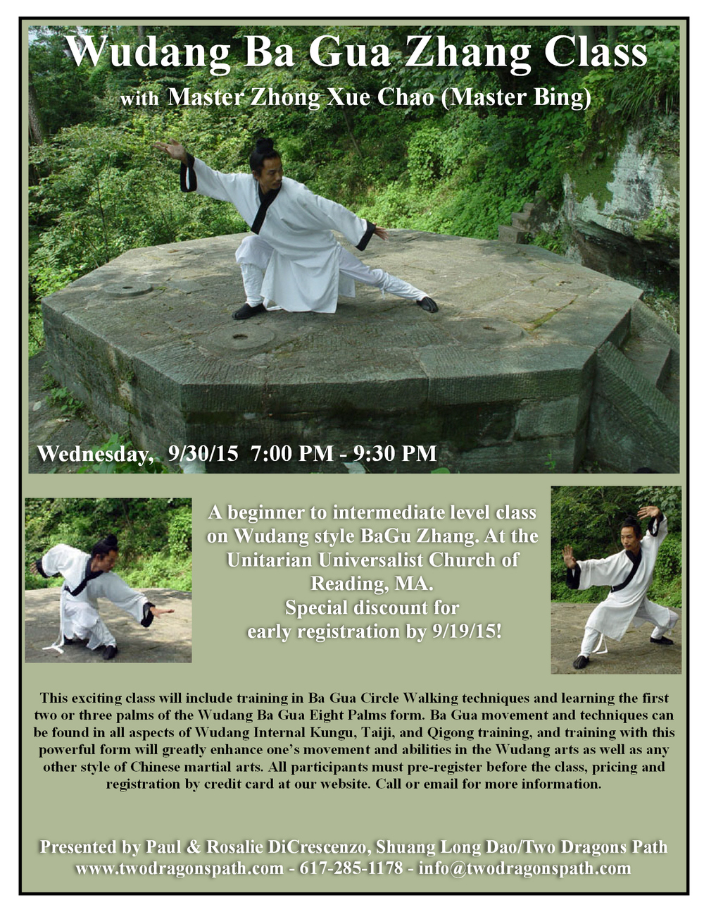 Wudang BaGua With Master Bing