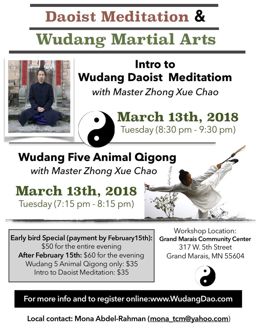 Wudang daoist meditation