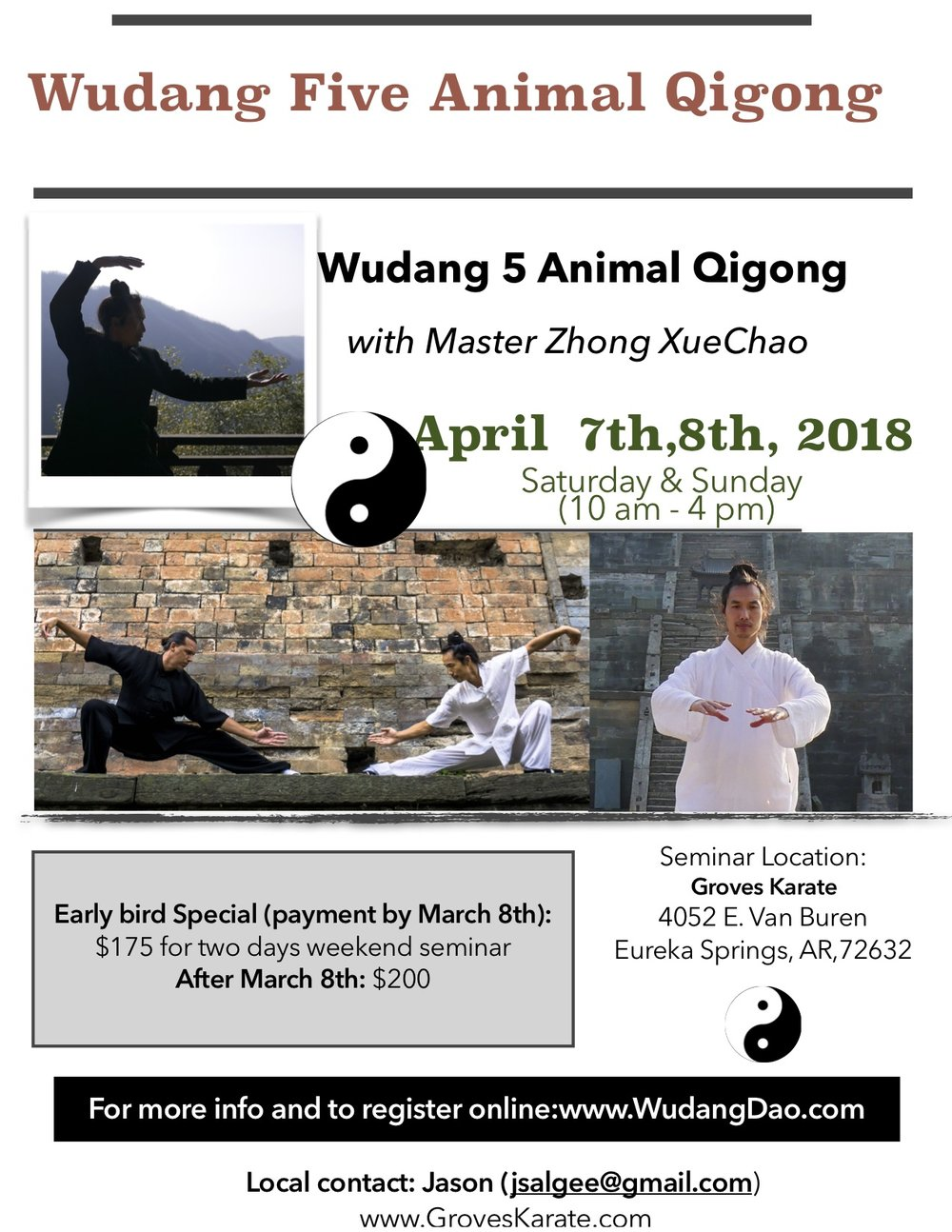 Five Animal Qigong 2018