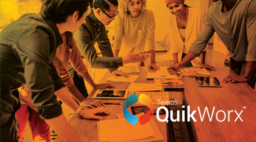 QuikWorx accelerates and simplifies the process for building the enterprise applications you need. The platform also provides ready-to-use solutions to enhance line of business productivity.   QuikWorx website