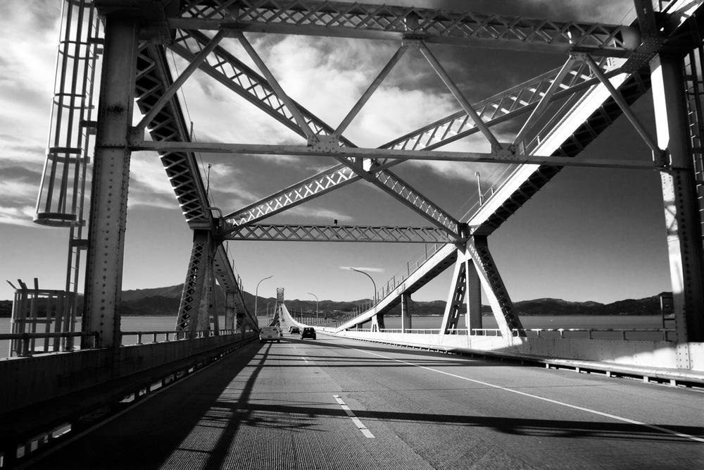 San Rafael Bridge en route