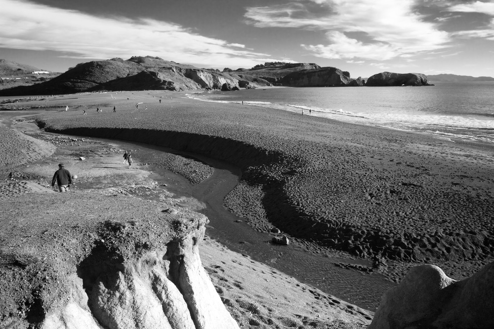 Overview of Rodeo Beach