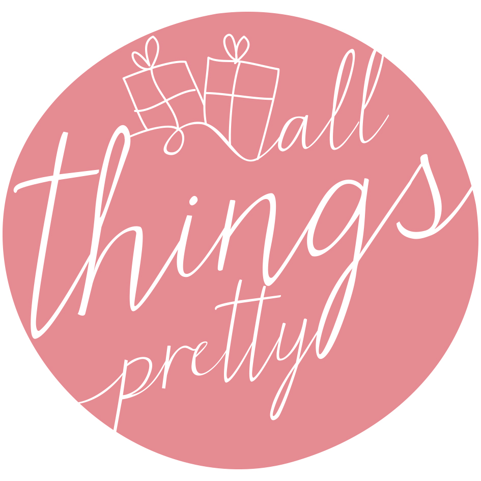 ©️ All Things Pretty Stapleford Logo Design, Design by Miss Sammie Designs