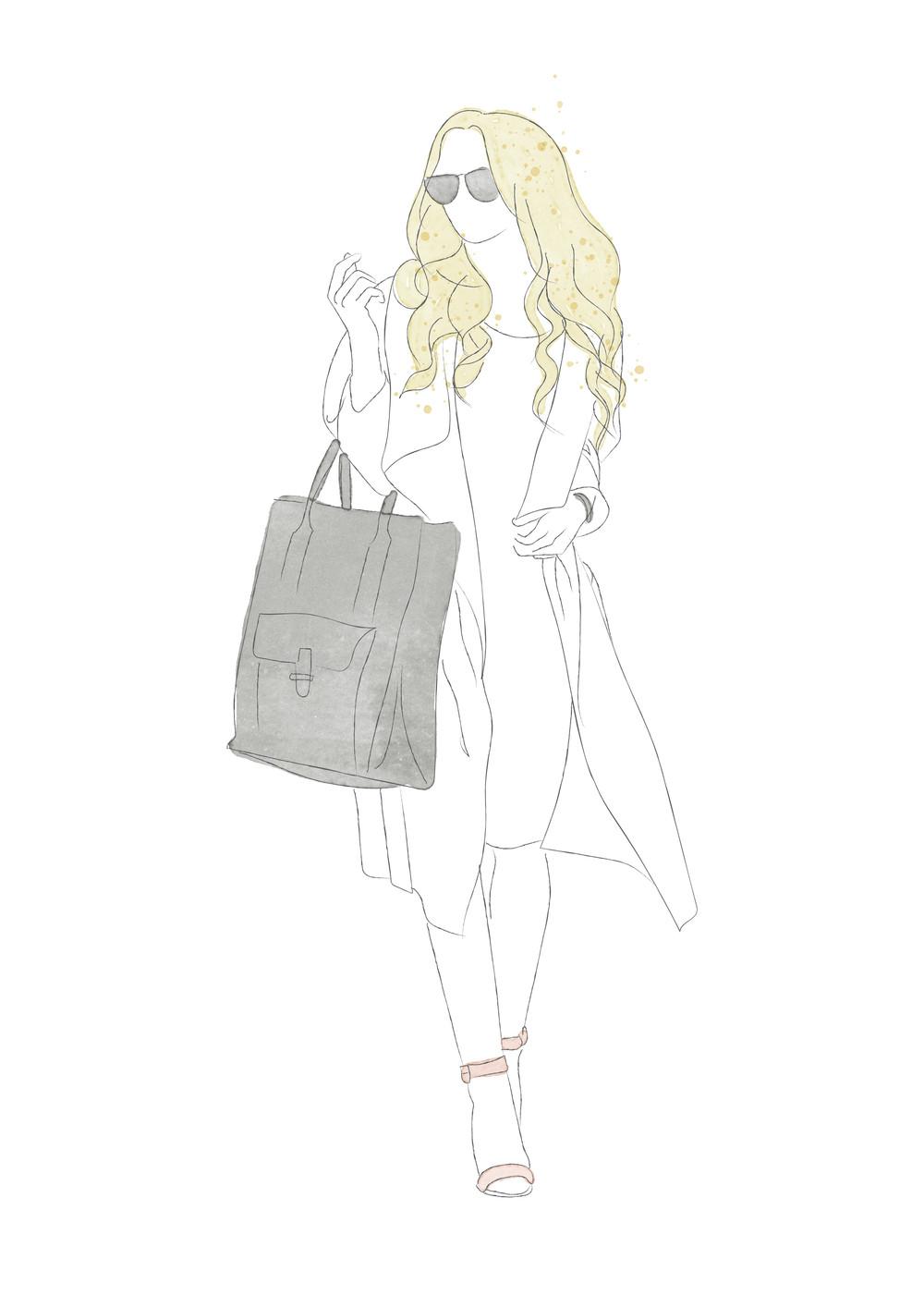 Julia Anne Style illustration by Miss Sammie Designs