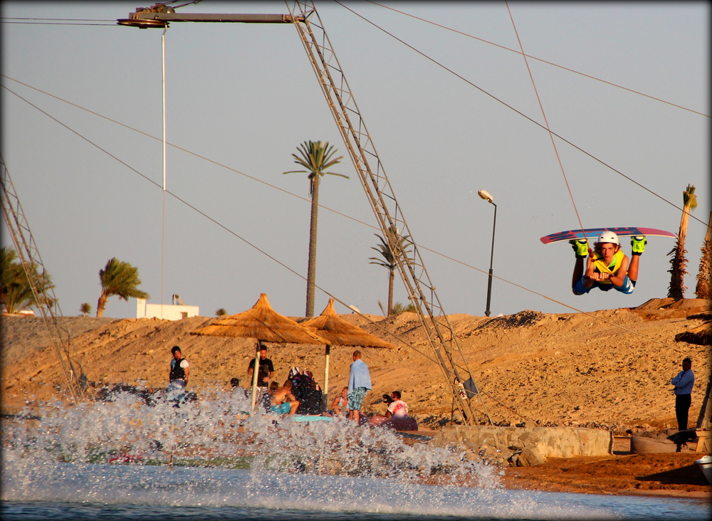 new cable park in egypt