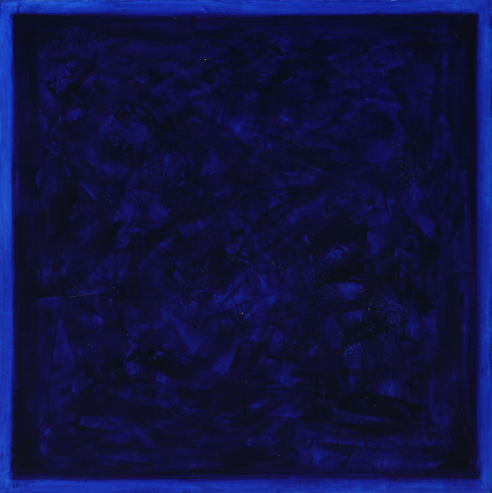 "(.176, .039) 25  , 2012 Oil, Pigment and Polymer on Canvas 40""x40"" Private Collection"