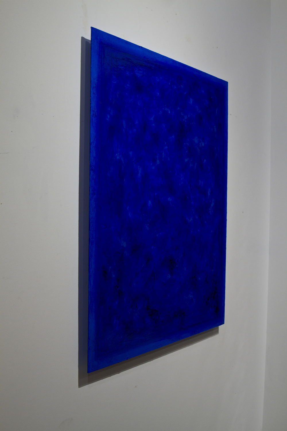 Side View  International Klein Blue commission,  2015