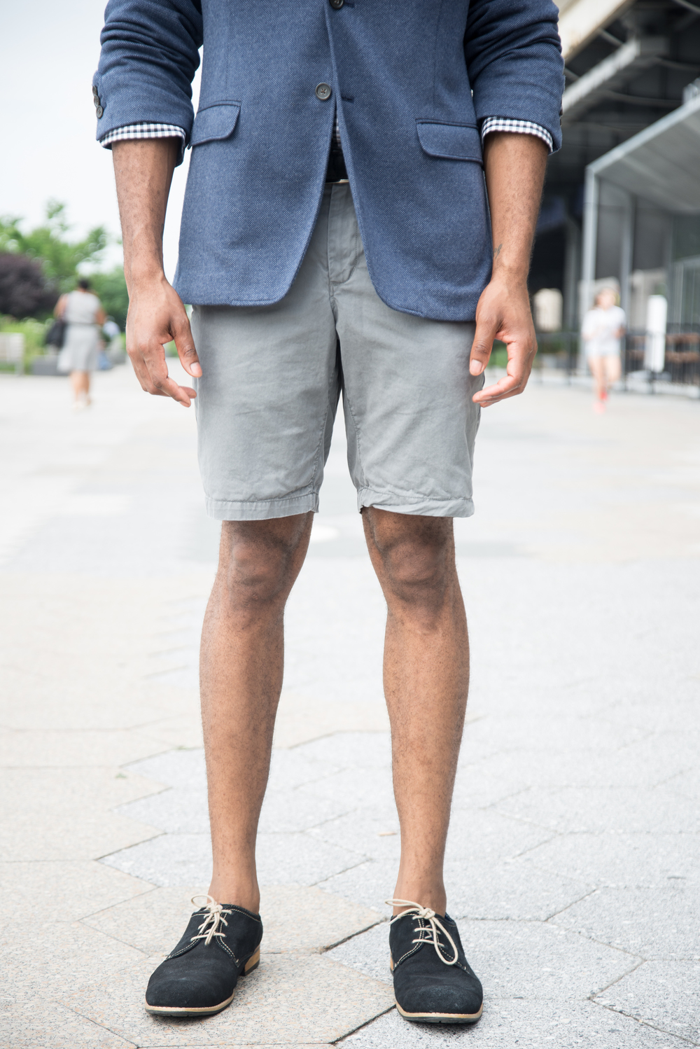 how to wear shorts 7