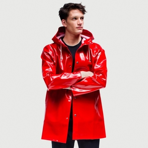 stutterheim opal red raincoat.jpg