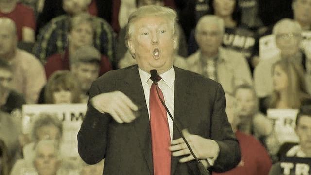 2016 campaign season donald trump mocks reporter