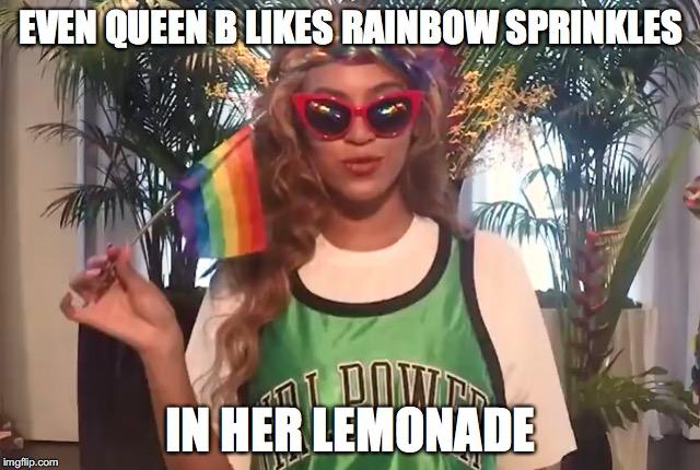 beyonce gay pride meme