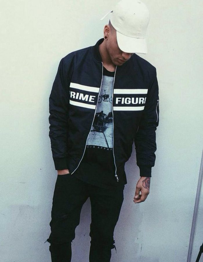 prime figure clothing classic bomber