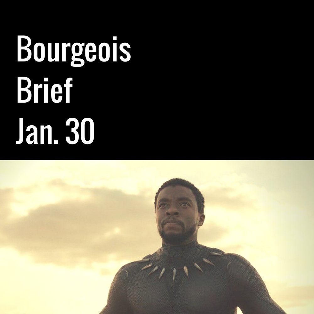 Bourgeois Brief Black Panther Earns Rave Reviews In Early