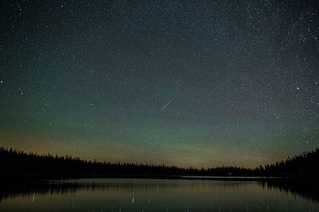 Spent last night at Three Creek Lake with @danielmrobbins to enjoy the Perseid Meteor Shower.  It was my first meteor shower, and it did not disappoint.  You can still get out there tonight if you missed it!