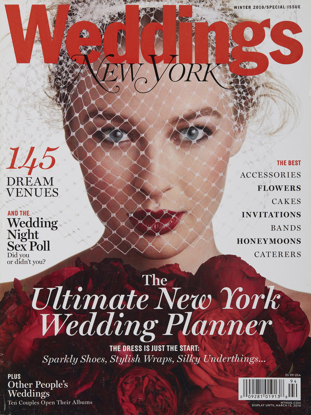 NY MAGAZINE WEDDINGS WINTER 2010