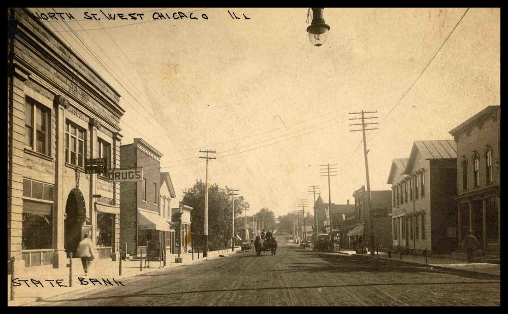 North Street, now Washington St. (1908-1918)