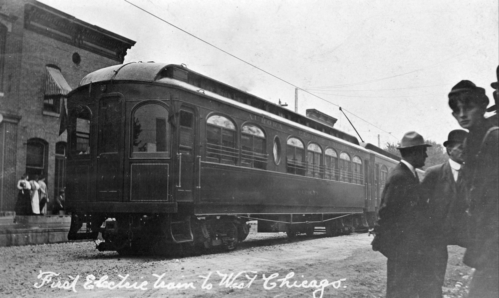The Aurora, Elgin & Chicago Railroad (with service through West Chicago from 1909-1937)