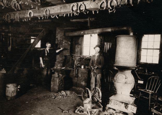 Krimball's Blacksmith Shop (1885)