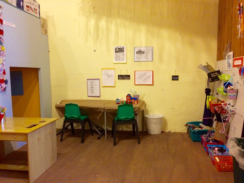 "Children can let their creativity fly in Parts Lab, inspired by our first-floor exhibit ""Made in West Chicago."""