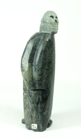 "7914G  Samonie Toonoo  Four Spirits Within, 2012 serpentinite H 15"" W 6.5"" D 4"""