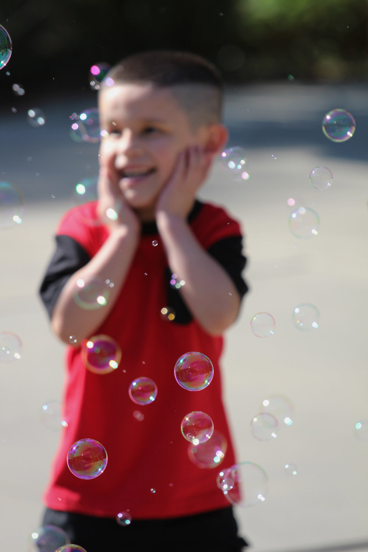 Boy in Bubbles - Holli Z Photography - 1.jpg