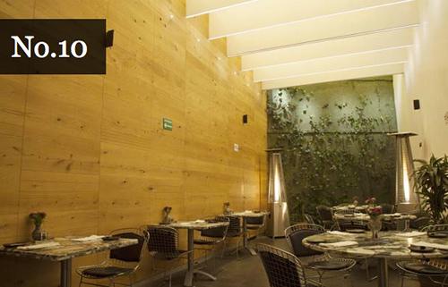 10. Quintonil, Ciudad de México del chef. Jorge Vallejo.