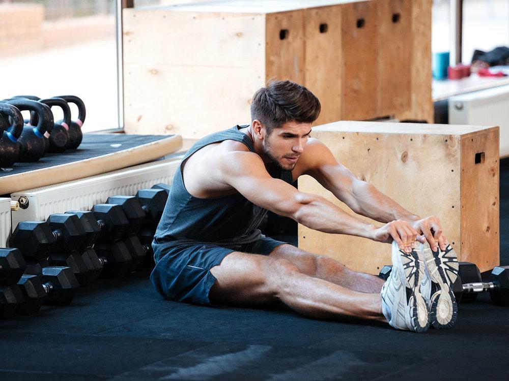 Antes de entrenar -